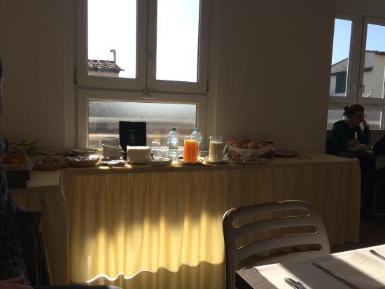 Hotel Cantoria: Colazione