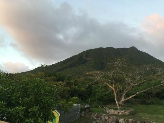 Lindbergh Landing: A view of Nevis Peak
