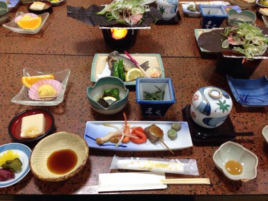 Santokan: 夕食
