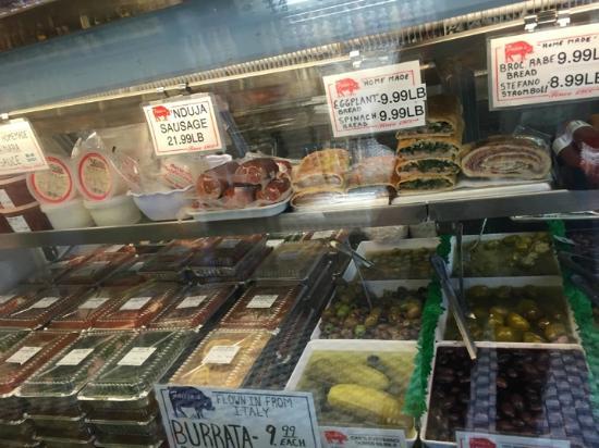 Faicco's Pork Store : Display Case at Faicco's