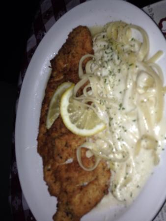 Mama Louise Italian Restaurant: Chicken Franchise.. The house specialty. Yum