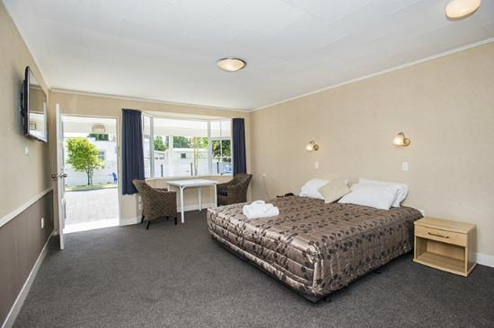 Gisborne, Νέα Ζηλανδία: Deluxe studio with spa bath and superking bed