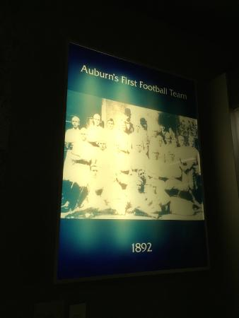 Alabama Sports Hall of Fame and Museum: Auburn's first football team 1892