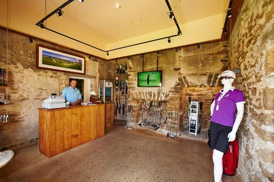 Norfolk Island Golf Course Pro Shop