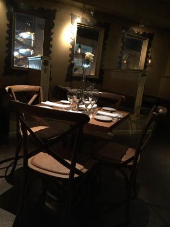 Cafe Terigo: Nice tabel