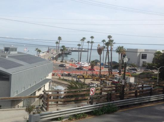Howard Johnson Santa Cruz Beach Boardwalk: Our view