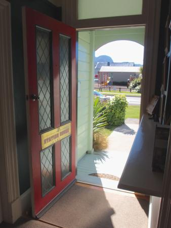 The Station House Motel: Front Entrance