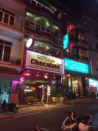 Chocolate Restaurant: great food