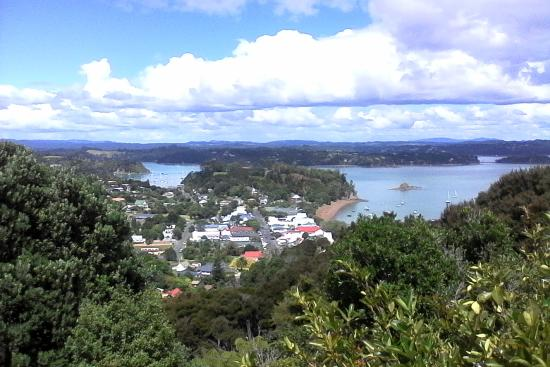 Russell township from Flagstaff Hill