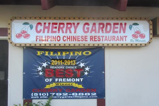 Cherry Garden Filipino And Chinese Restaurant Philipino Fremont