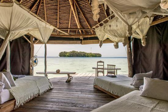 Thousand Islands, Indonesia: View from Zen Villa