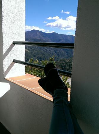 Benarraba, Spanyol: Blick vom Balkon