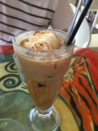 John St Cafe: Iced coffee