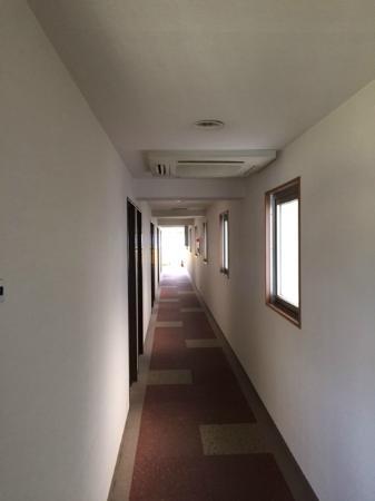 Step Inn Shin-Osaka Higashiguchi: 廊下
