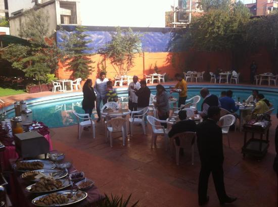 Hotel Vaishali: Morning Breakfast