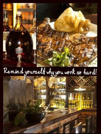 The Grillhouse Rosebank: Remind yourself why you work so hard