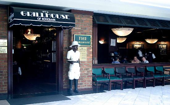 The Grillhouse Rosebank: Waitng for you to arrive