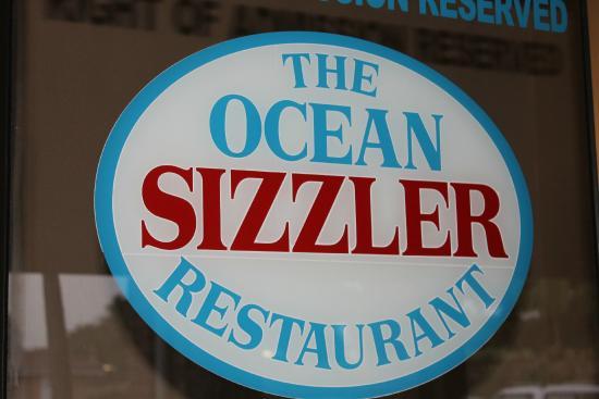 The Ocean Sizzler: Signboard