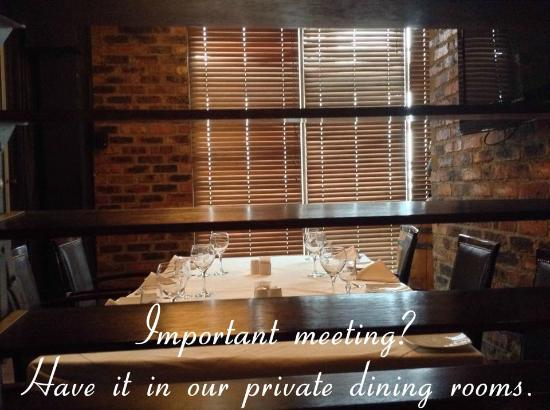 The Grillhouse Rosebank: Private Dining areas for functions