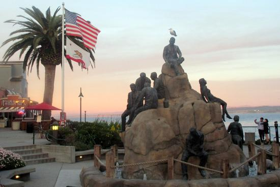 ‪The Cannery Row Monument‬