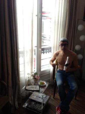 Bed & Breakfast Bouchardon: champagne