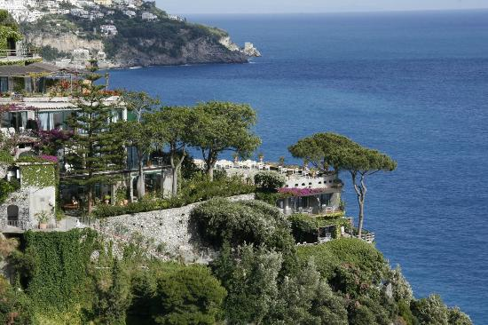Il San Pietro di Positano: View of the main terrace