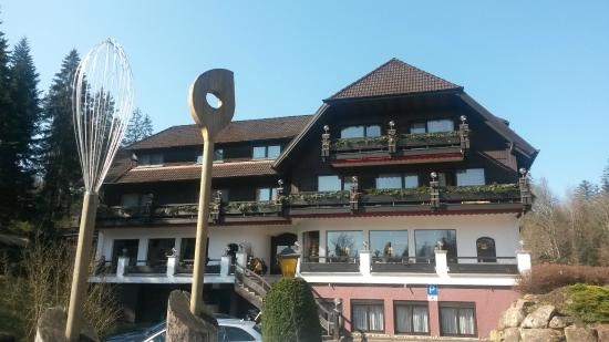 Hotel Restaurant Waldsaegmuehle : Facciata hotel