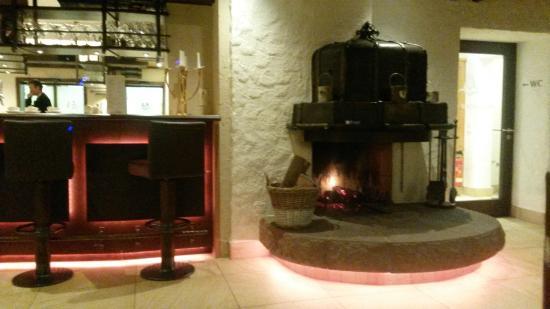 Hotel Restaurant Waldsaegmuehle : Camino bar
