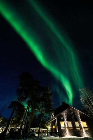 Nellim Wilderness Hotel : #Northern Lights Show