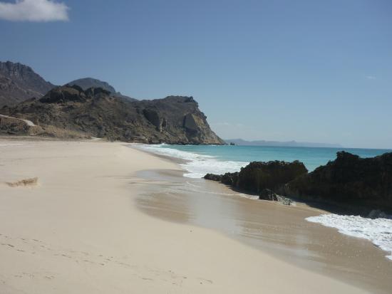 هيلتون صلالة: spiaggia di Fazayah