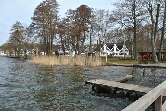 Schlosspark Bad Saarow: Blick vom Bootssteg