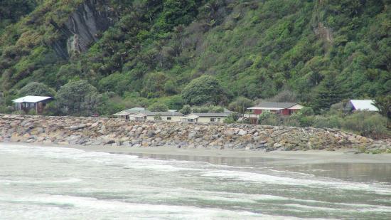 motel as seen from pancake rocks picture of punakaiki beachfront rh tripadvisor co nz