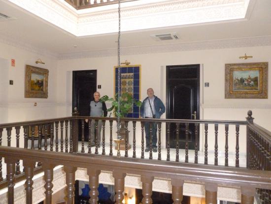 Hotel El Poeta de Ronda: Hotel first floor landing