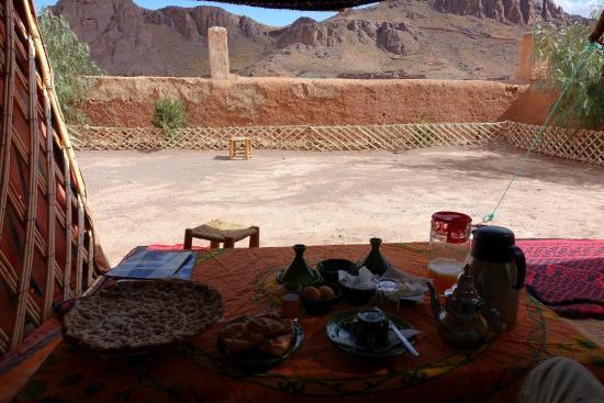 Restaurant Tissili : Berber breakfast (included in room price)