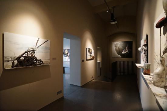 Montanelli Muzeum: Interiér Musea Montanelli