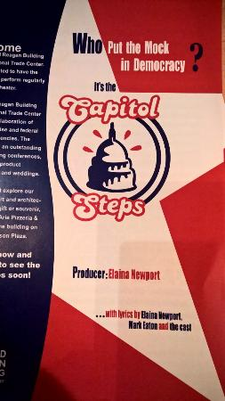 The Capitol Steps: Play Bill
