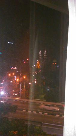 Grand Pacific Hotel Kuala Lumpur: view from the room(only few room has this view)