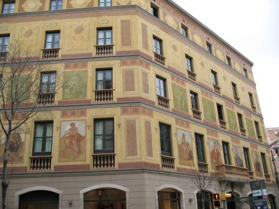 catalunya berna hotel carrer de roger de ll ria 60 08009 barcelona picture of catalonia. Black Bedroom Furniture Sets. Home Design Ideas
