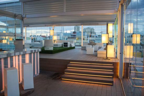 Restaurante la terraza de oscar en madrid con cocina tapas for Terrazas nocturnas madrid