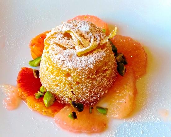 Cook Italy : Baked Lemon and Almond dessert
