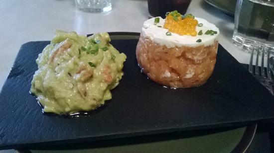 Restaurante Tantarantana: crudo di tonno con guacamole
