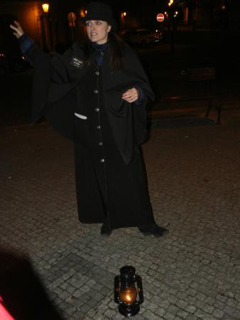 Ghosts and Legends Tour by Haunted Prague: Our guide Miriam