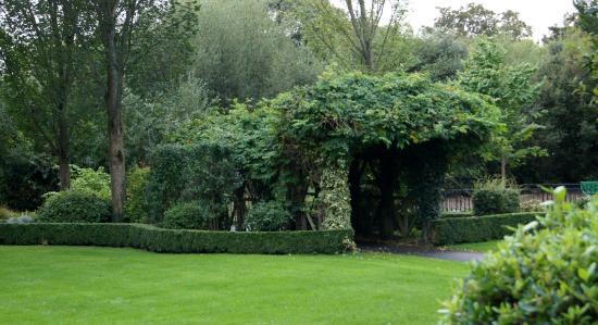 Celtic Park and Gardens: Covered Bridge