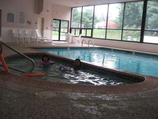 Ramada Harrisburg/Hershey Area: both pools