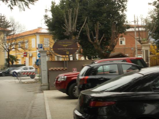 Villa dei Platani Boutique Hotel & Spa: parcheggio