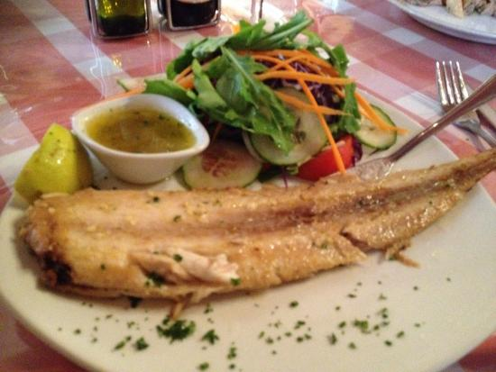 Fabio's Ristorante: Sole with lemon butter