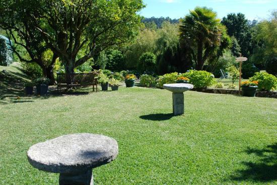 Pazo da Touza: Parte de los jardines
