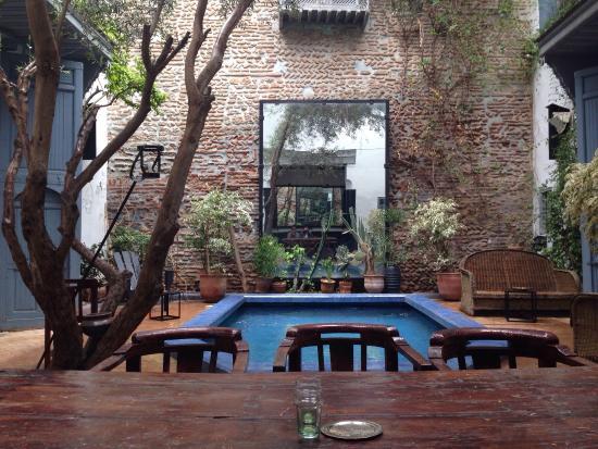 Riad Medea: La magnifique patio...