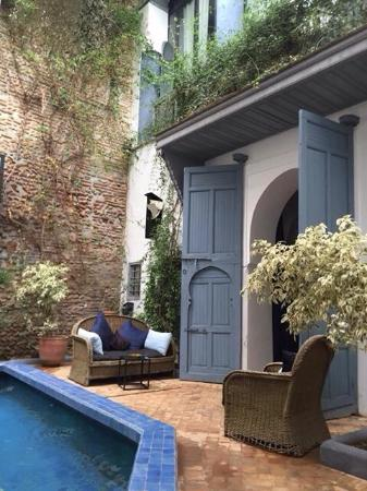 Riad Medea: Le charmant patio