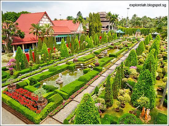 European Garden Picture Of Nong Nooch Tropical Botanical Garden Pattaya Tripadvisor